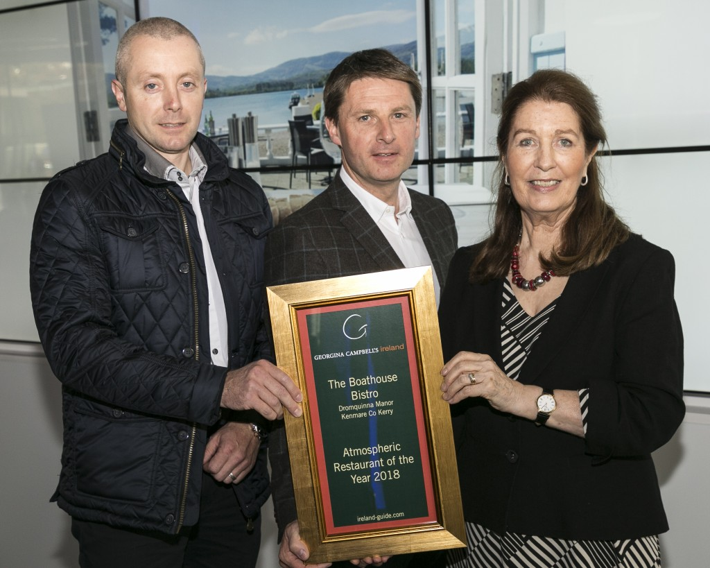 Free repro - please credit Paul Sherwood Georgina Campbell Awards 2018, held at Bord Bia, Dublin. September 2018